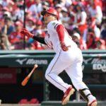 難敵・則本を松ちゃんが一振りで撃破!やっぱり野球は投手だよな。