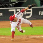 九里、完封を経験して余裕の投球も阪神に勝ちきれず。ケムナまたも「名前負け」で四球連発。