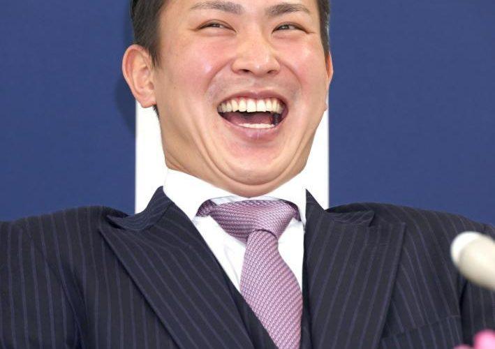 こんな笑顔見たことない!!堂林2000万アップで契約更改!来季もひた向きに、ガムシャラに。