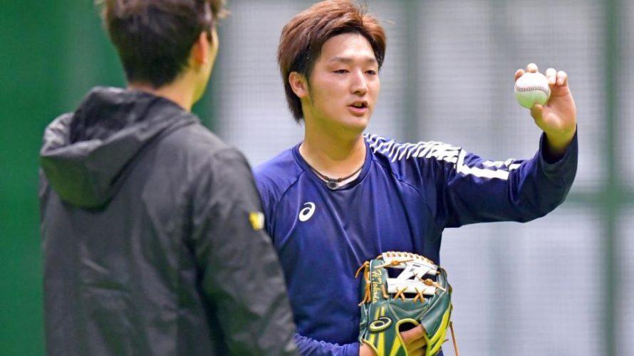 希少な先発左腕の床田、昨季九里同様に何かをつかんだ「かも」!?龍馬も開幕に向けて打撃練習を再開!